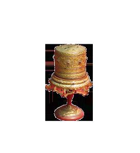 scatola per betel cerimoniale – XIX sec.