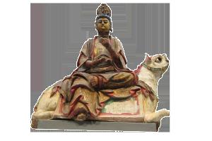 bodhisattva – terracotta e legno – Cina, dinastia Song – XII sec.