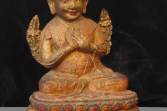 Karma-pa – stucco – Tibet – XVI sec.