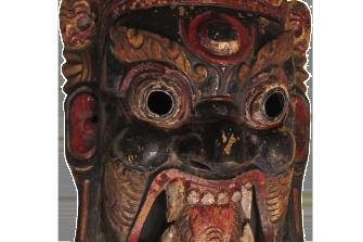 maschera rituale – Mahakala – XVIII sec.