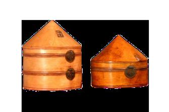 cappelliere coniche - Cina – XIX sec.