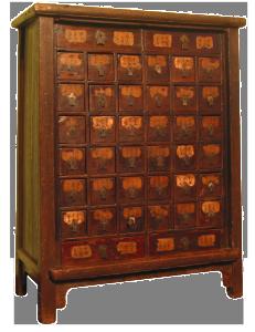 mobile da farmacia – XIX sec.